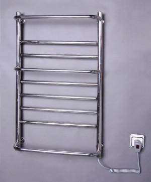Электрический полотенцесушитель Элна-9 поворотная (нерж)