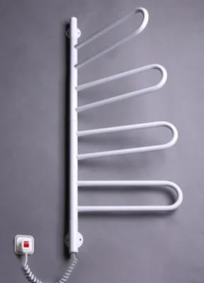 Электрический полотенцесушитель Флюгер-4 поворотный (белый)