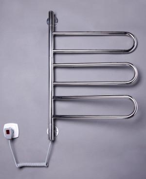Электрический полотенцесушитель Флюгер-3 поворотный (нерж)