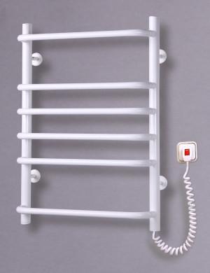 Электрический полотенцесушитель Стандарт-6 Элна (белый)