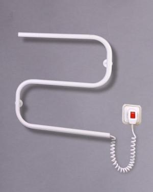 Электрический полотенцесушитель Змейка-S (белая)