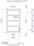 Электрический полотенцесушитель Классик HP -I 650x430 TR таймер-регулятор