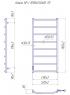 Электрический полотенцесушитель Классик HP -I 1090x530 TR таймер-регулятор