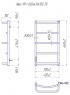 Электрический полотенцесушитель Люкс HP -I 650x430 TR таймер-регулятор