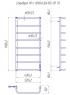 Электрический полотенцесушитель Стандарт HP -I 1090x530 TR таймер-регулятор