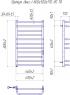 Электрический полотенцесушитель Премиум Люкс-I 800x500/170 TR таймер-регулятор