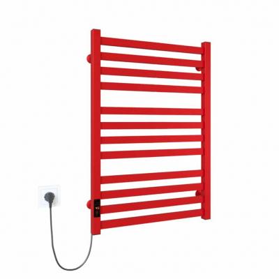 Magnus П12 500х800 Э правое подключение (красный) Электрический полотенцесушитель