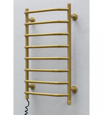 Электрический полотенцесушитель Стеир плюс 45 Золото