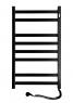Полотенцесушитель Авангард 480х800 правый чёрный 12-228050-4880