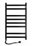 Полотенцесушитель Авангард 480х800 левый чёрный 12-228150-4880