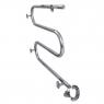 Полотенцесушитель Laris Змеевик 25 РС3 600 х 500 Э (подкл. слева)