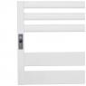 Полотенцесушитель Laris Зебра Лавина ЧК10 500 х 900 Э (подкл. слева)