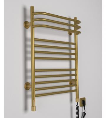 Электрополотенцесушитель Interio BR.1 Золото (435х707)