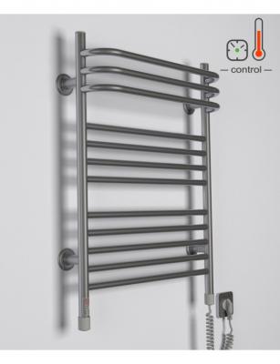 Электрополотенцесушитель Interio BR.1 Серебро (435х707)