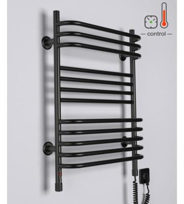 Электрический полотенцесушитель Interio HR1 Черный (707х435)